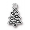 Christmas Christmas Tree Charm Antique Silver